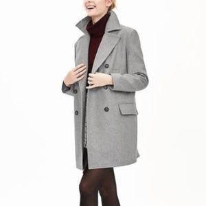 Banana Republic Grey Wool Coat
